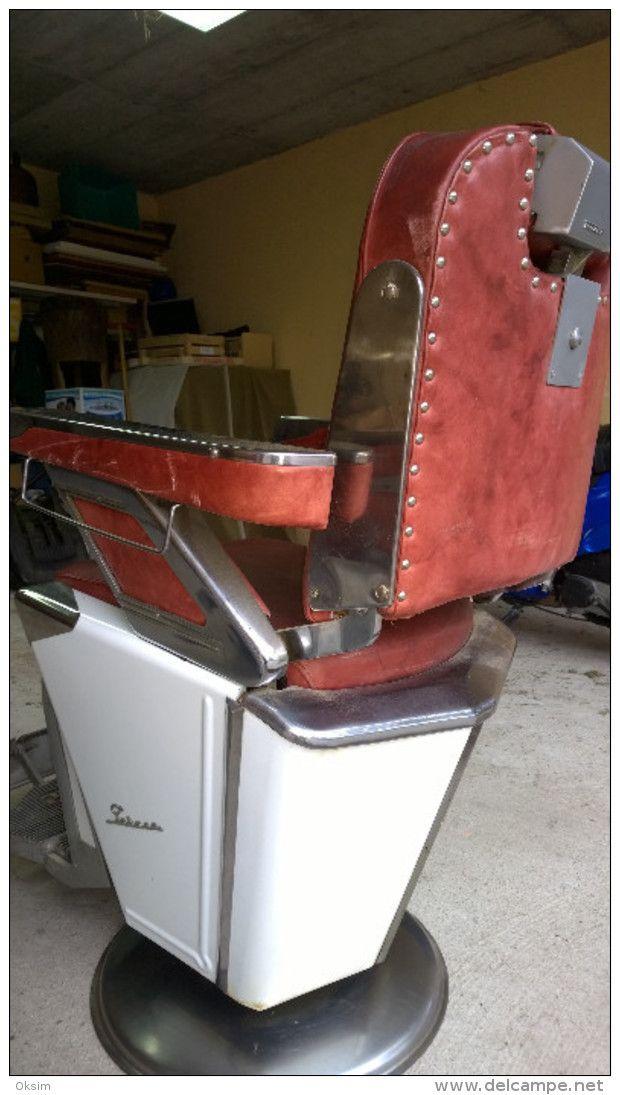 Rare Vintage Takara Belmont Barber Chair 1950s 2 Chairs Furniture