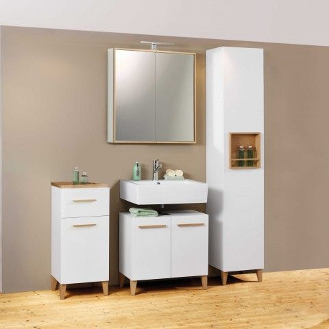 Segm Ler Badezimmer Schrank