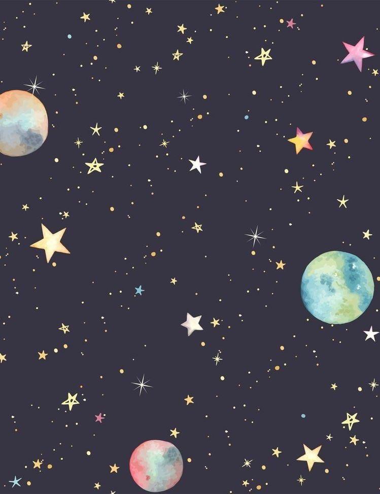 Star Sky Sparkle Background Planet Universe Earth Limit