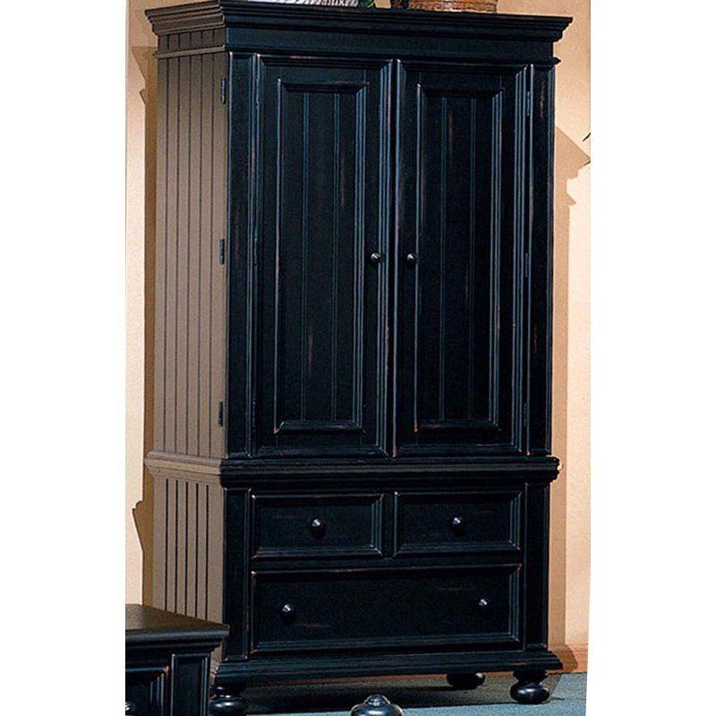 Best Classic Black Armoire Cape Cod Nebraska Furniture Mart 640 x 480