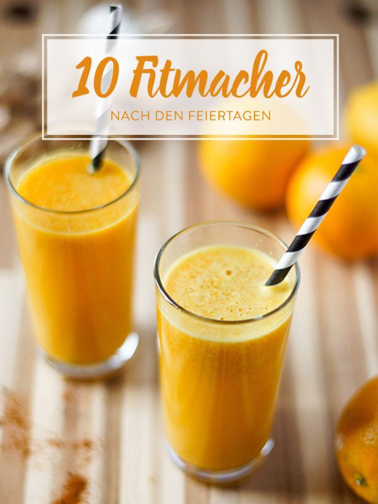 10 vitamingeladene Detox-Drinks   Getränke   Pinterest   Detox ...