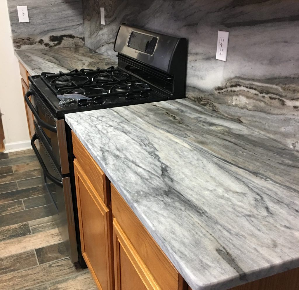 Type Of Job Kitchen Countertop Material Marble Color Thunder