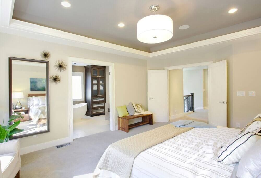 32 Exquisite Master Bedrooms with French Doors (PICTURES) Master