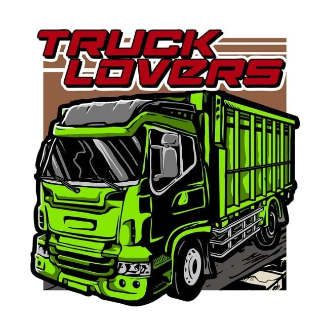 Vector Of Cool Truck Or Big Car Lovers Vector And Png Cool Trucks Truck Vector Truck Design