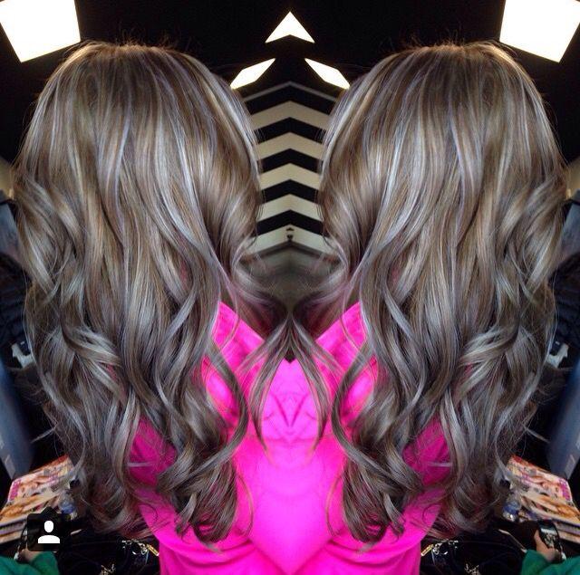 Ash Blonde Highlights With Ash Brown Lowlights Hair Hair Hair