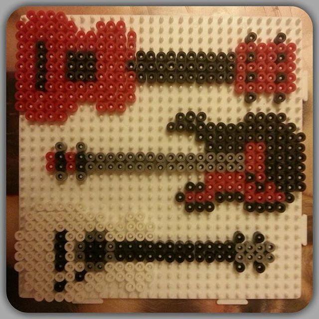 Guitars Perler Beads By Ida_wremerth