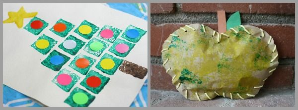14 Art Projects for Kids Using Sponges - Buggy and Buddy