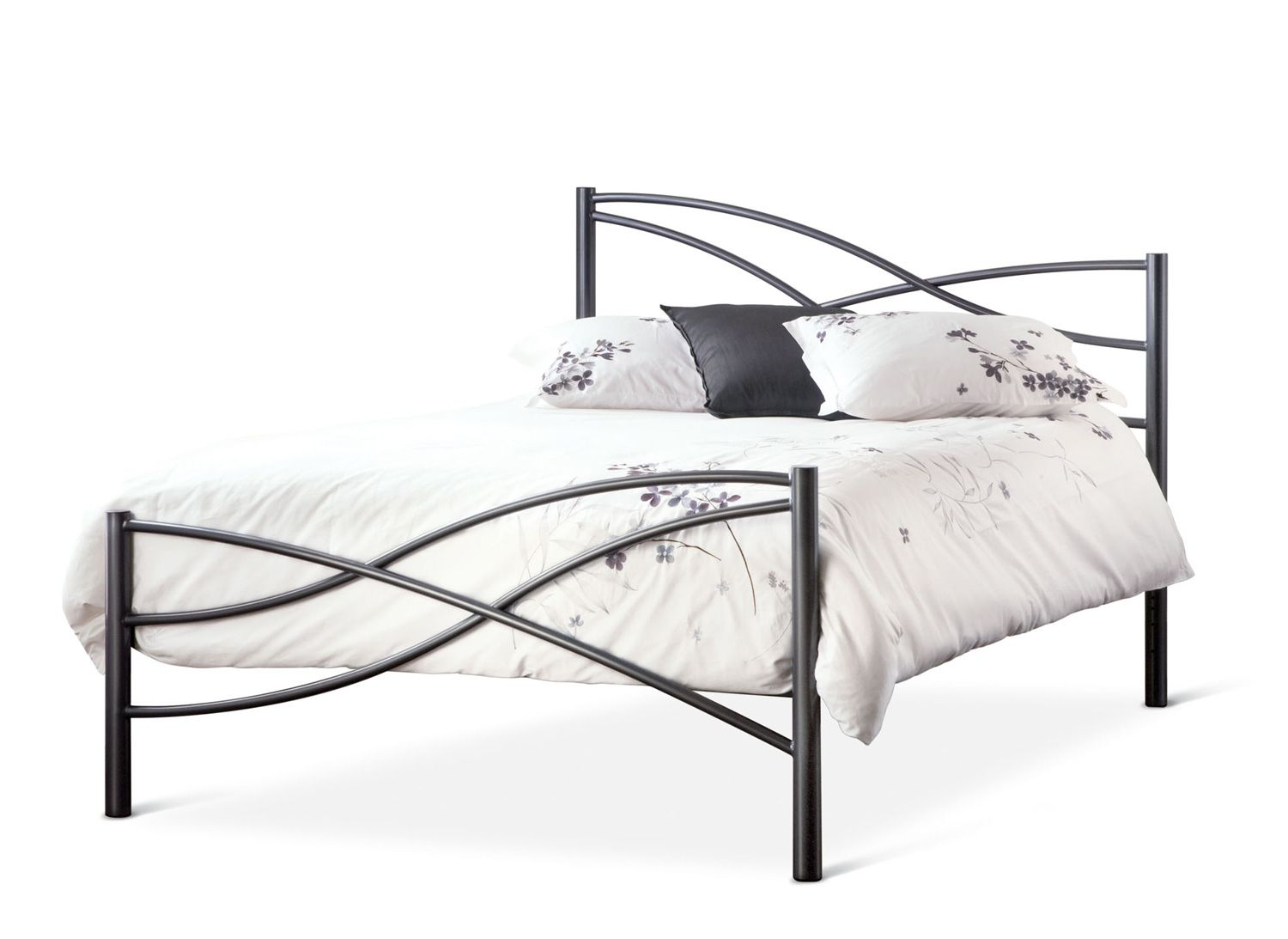 Nina Metal Bed Frame by Amisco | Bed Frames Seattle | rebecca room ...