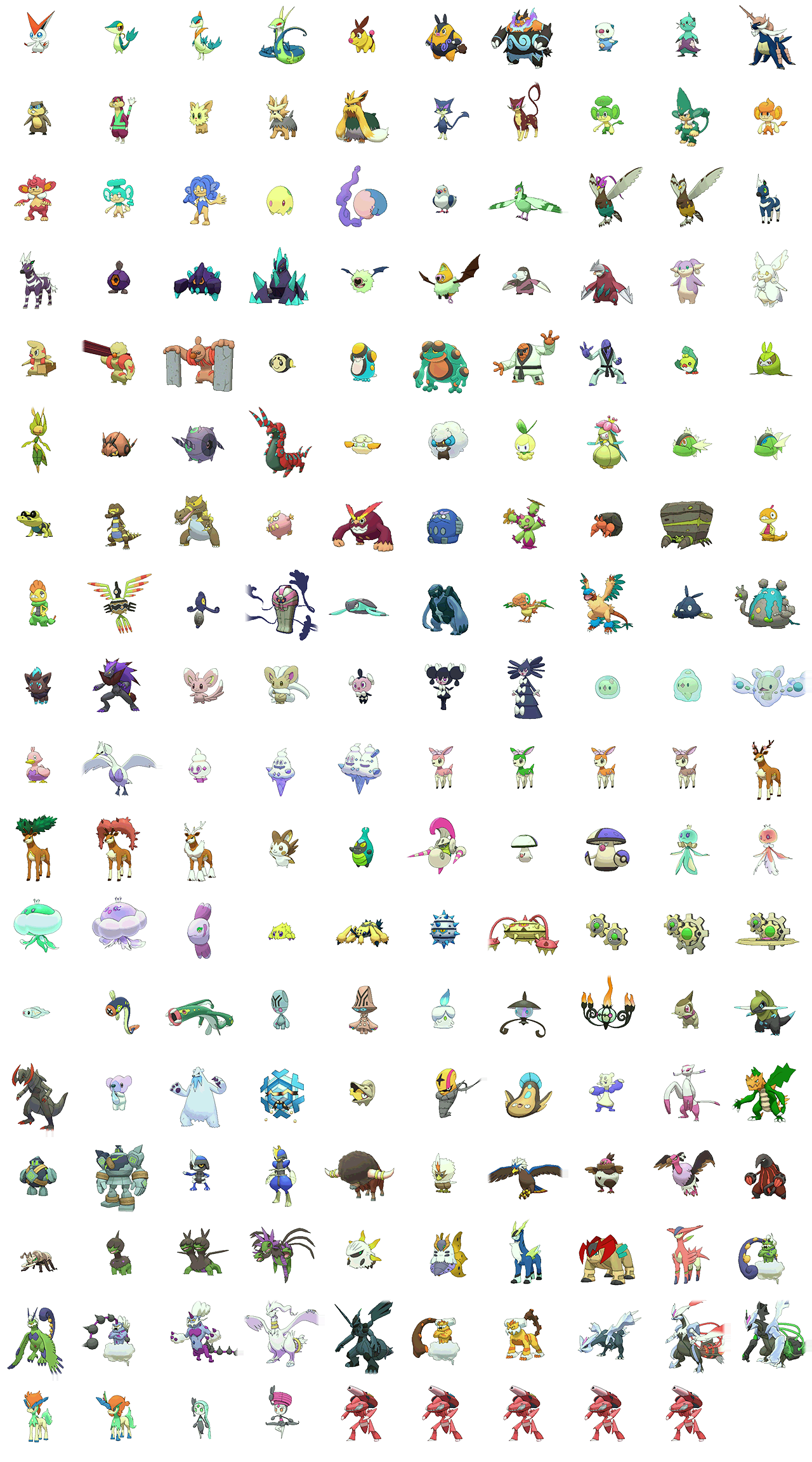 Pokemon Omega Ruby Alpha Sapphire 5th Generation Shiny Pokémon