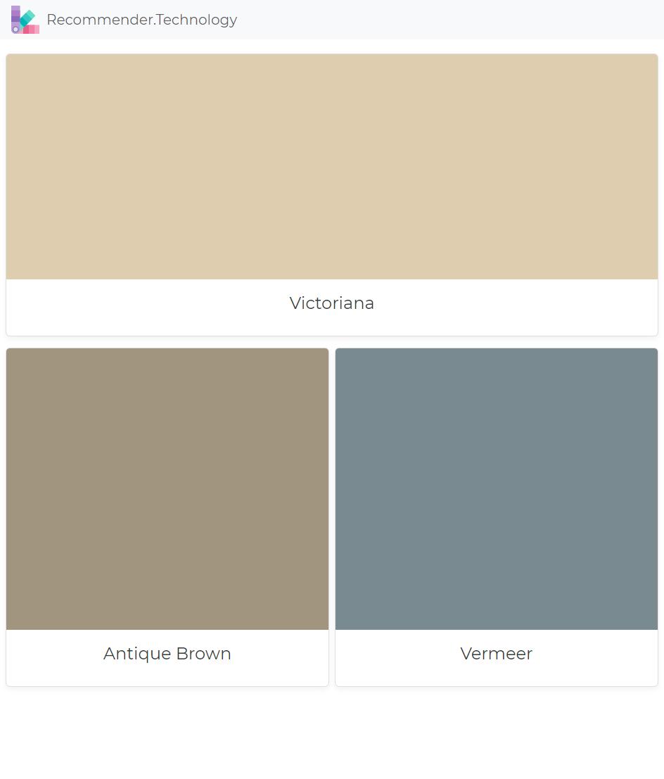 Victoriana Antique Brown Vermeer Ralph Lauren Paint Colors Color Palettes
