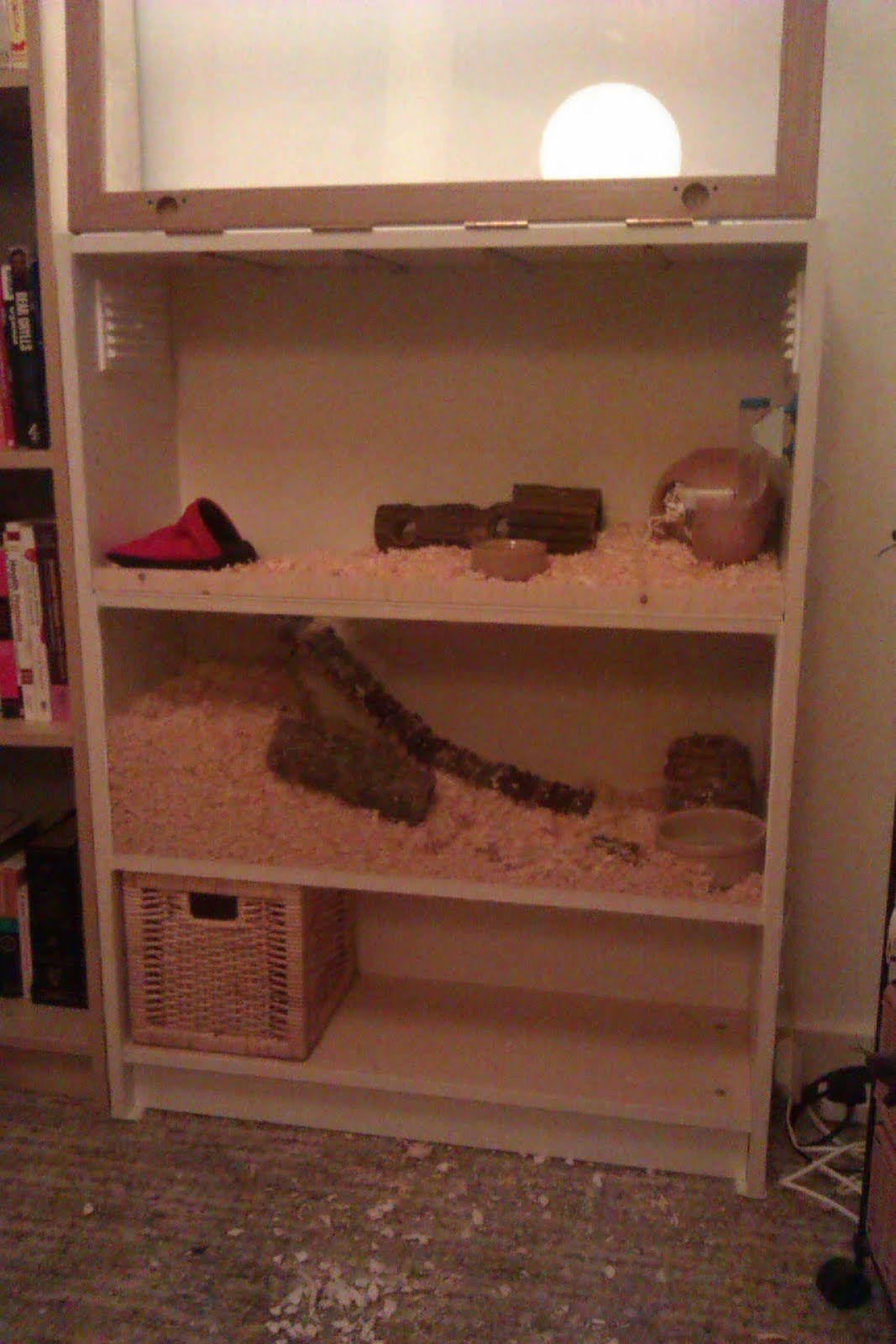 make your own two storey hamster apartment ikea hackers