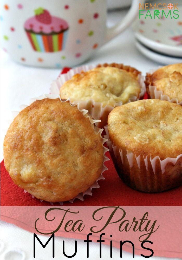 Tea Party Banana And White Chocolate Mini Muffins Recipe Muffins