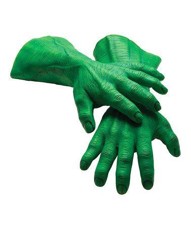 Hulk Hand Gloves - Adult #zulily #zulilyfinds