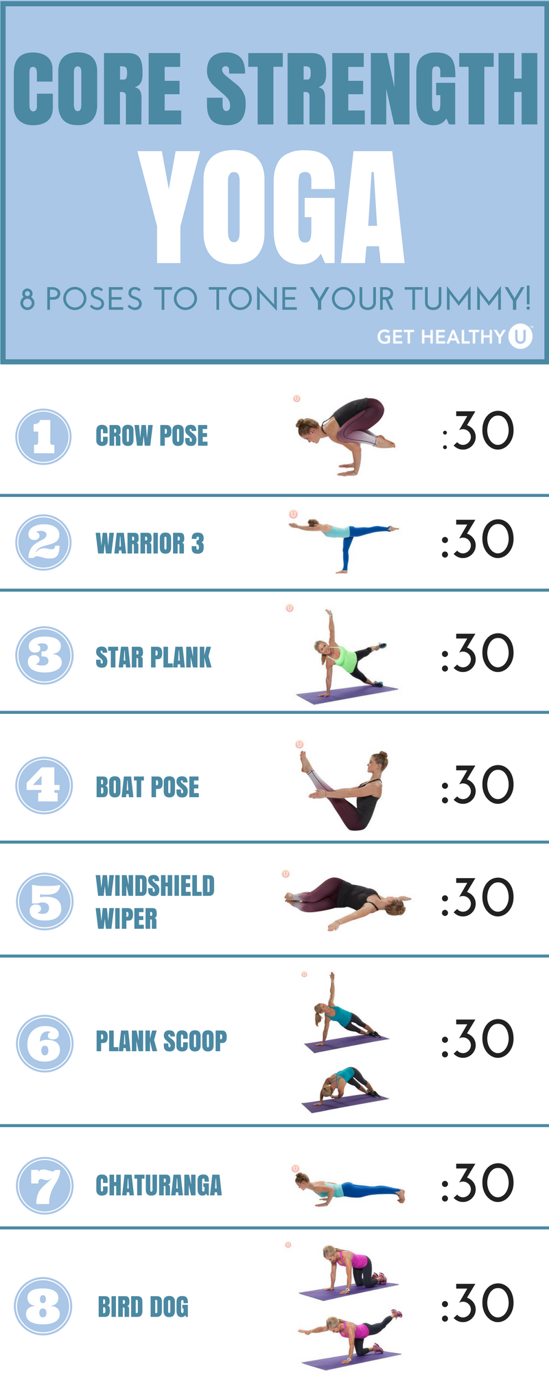 8 Challenging Yoga Poses For Core Strength Strength Yoga Easy Yoga Workouts Yoga Challenge Poses