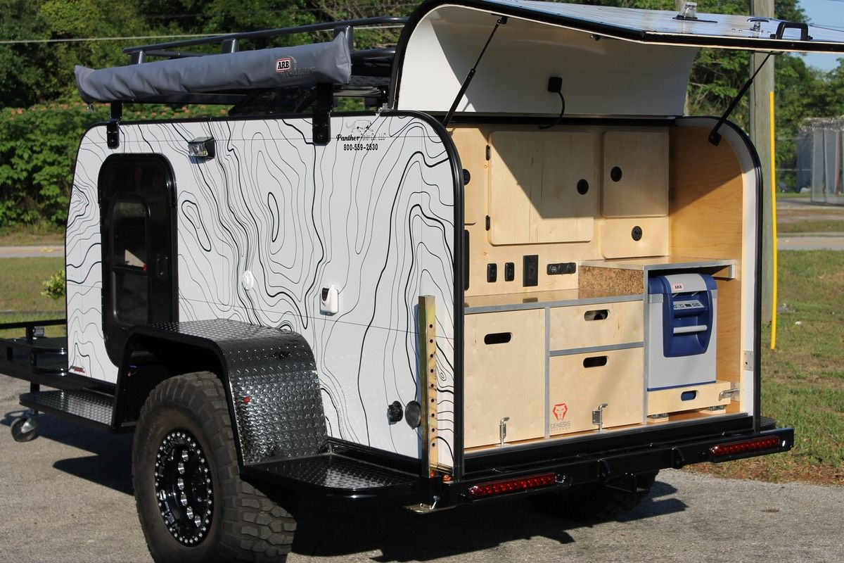 39 15 Panther Overland Camper Trailer Demo American Expedition Vehicles Product Forums