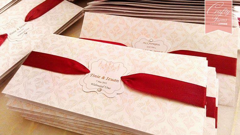 Wedding Card Malaysia Crafty Farms Handmade Wedding Cards Handmade Wedding Cards Damask Wedding