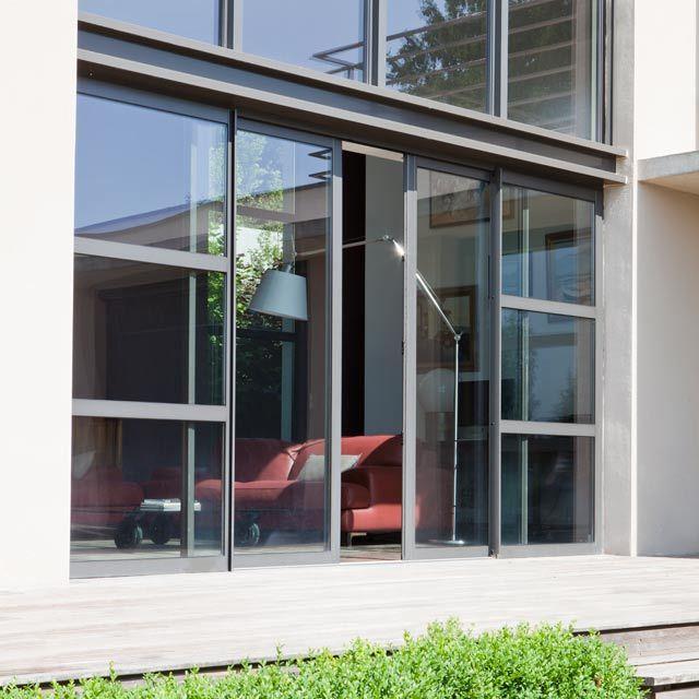r sultat de recherche d 39 images pour menuiserie ext rieure alu couleur taupe fa ade et. Black Bedroom Furniture Sets. Home Design Ideas