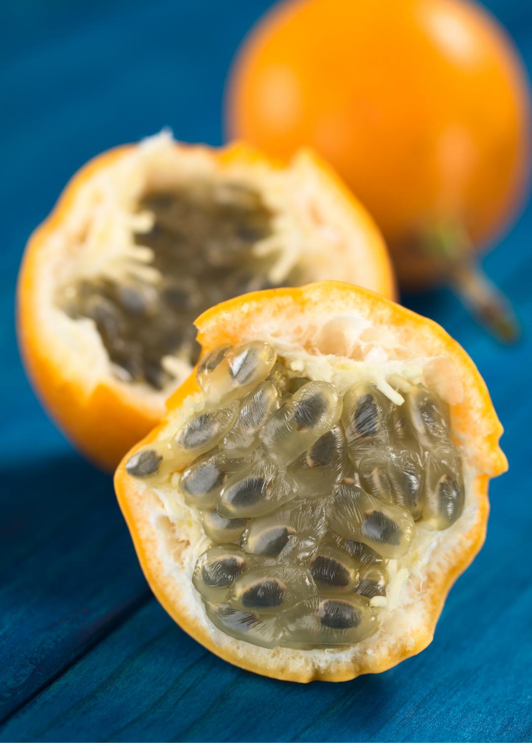 Passion Fruit Yellow Passiflora Ligularis Passion Fruit Plant Yellow Passion Fruit Passiflora