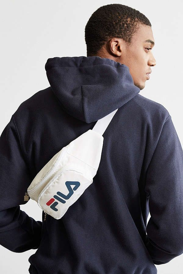 f900703c28 Slide View  2  FILA Logo Sling Bag