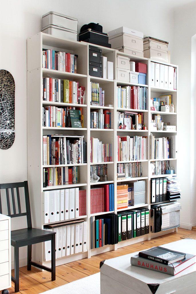 Ikea 'Billy' bookcases   Ikea bücherschrank, Haus, Zimmer