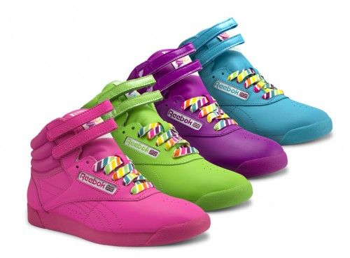 be2ba590f6c06 Reebok Women s Classic colored High Top