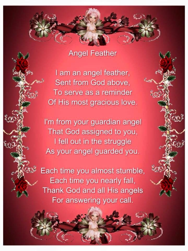 Angel Poem Our Father Who Art In Heaven Angel Feathers Angel Spirit