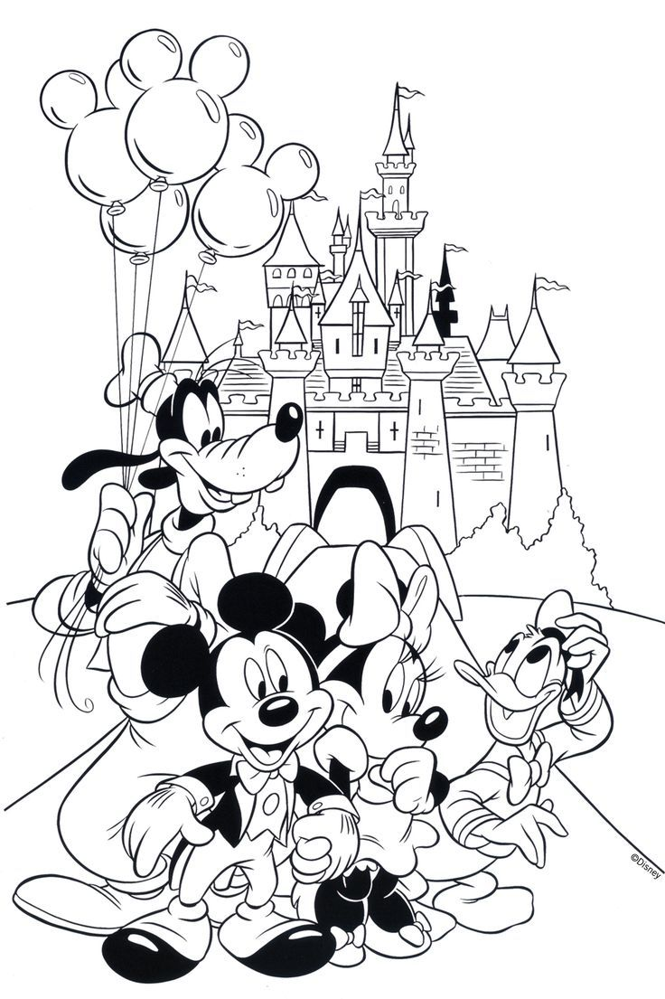 Free Disney Coloring Page! #Printable | Coloring Books Printable ...