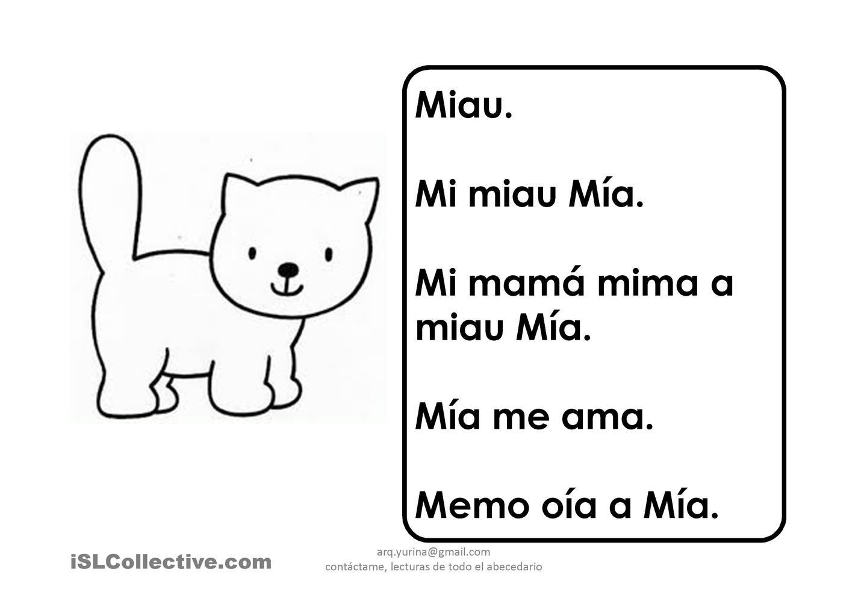 Lecturas Letra M
