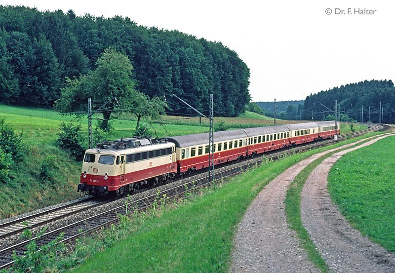 Rheingold Zug Fahrplan
