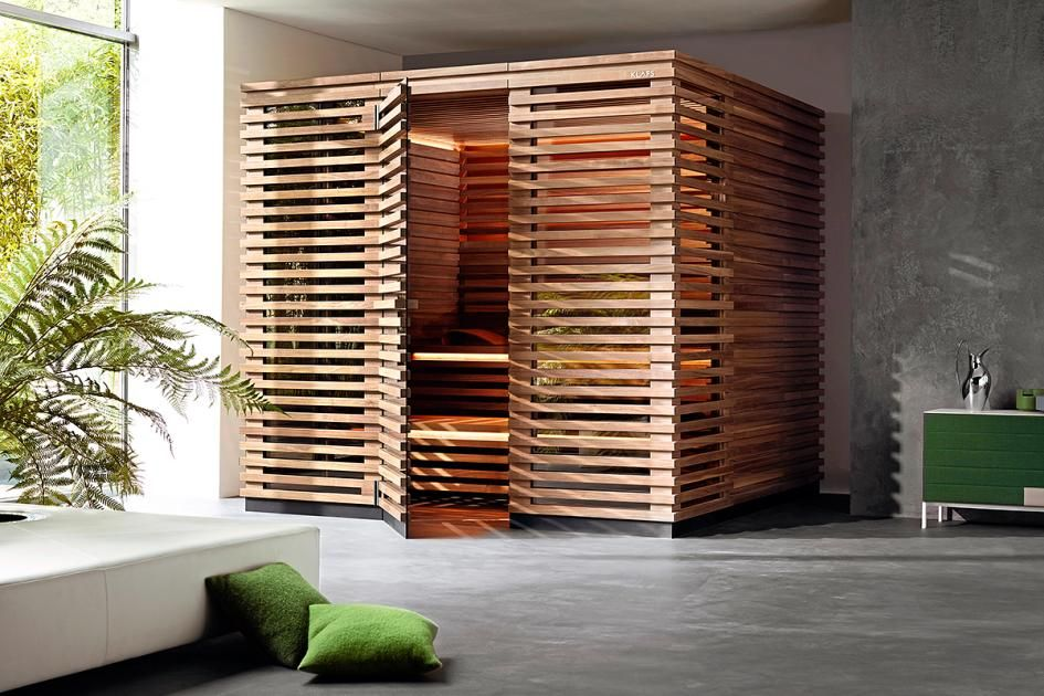 "Holzstapel: Sauna ""Matteo Thun"" Von Klafs"