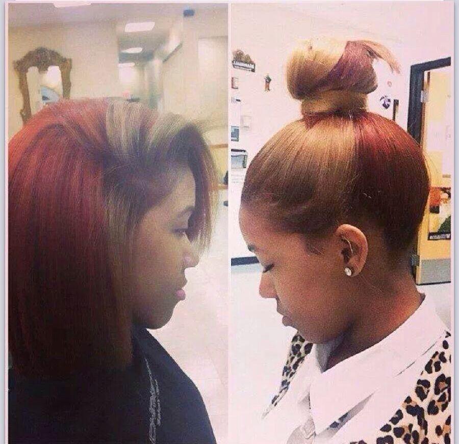 Split Hair Color Hair Styles Natural Hair Styles Hair
