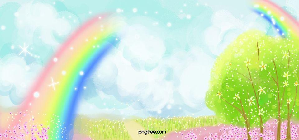 Fundo Lindo Arco Iris Rainbow Background Beautiful Rainbow Rainbow