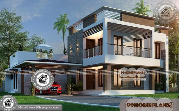 Beautiful Double Storey House Designs 90 Two Level House