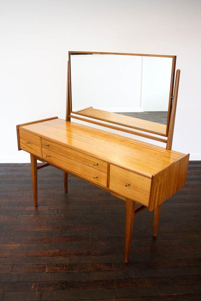 Danish Modern Bedroom Furniture: Danish Modern Vanity/desk.