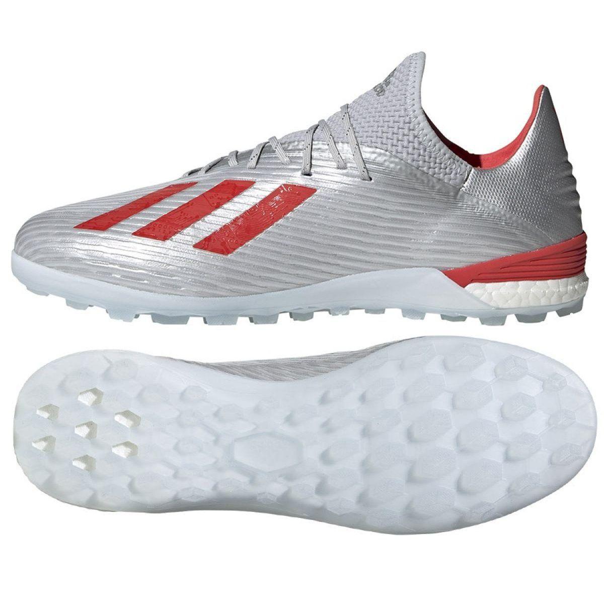 Buty Pilkarskie Adidas X 19 1 Tf M G25752 Wlasciwosci Meskie Buty Pilkarskie Firmy Adidas Przeznaczone Do Gry Na Nawierzchniach Sztucznych Niski Kolnierz I F
