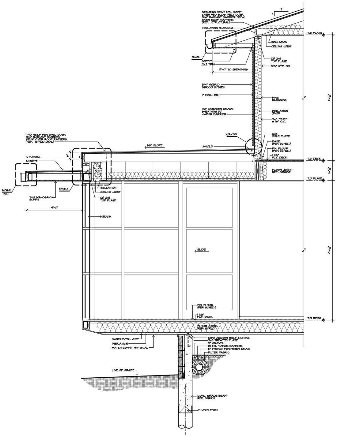 Modern house project for 2012 pinterest room for Detailed house plans