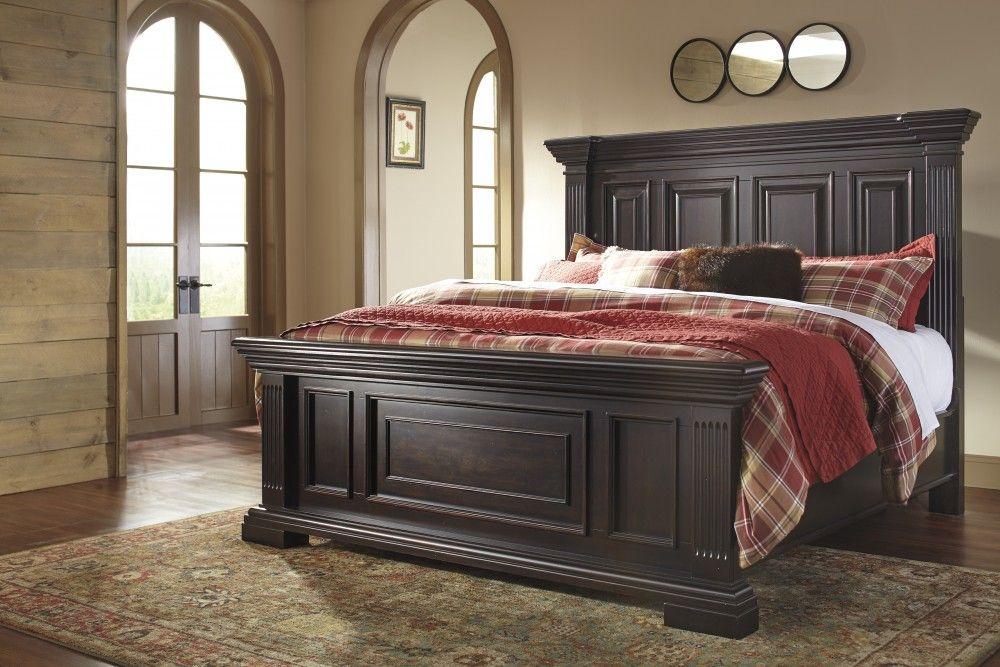 Willenburg King Panel Bed Bedroom Sets Furniture