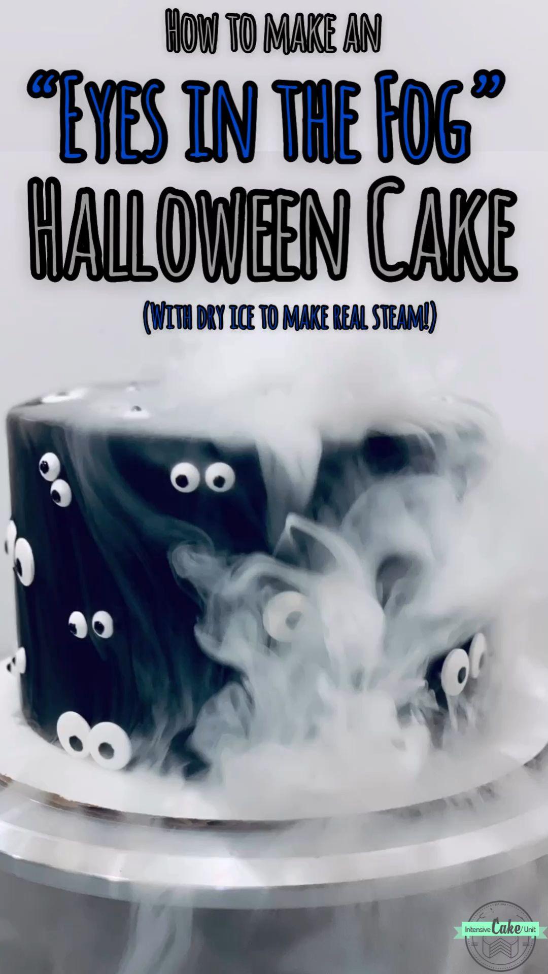 """Eyes in the Fog"" Halloween Cake -   17 cake Amazing birthday ideas"