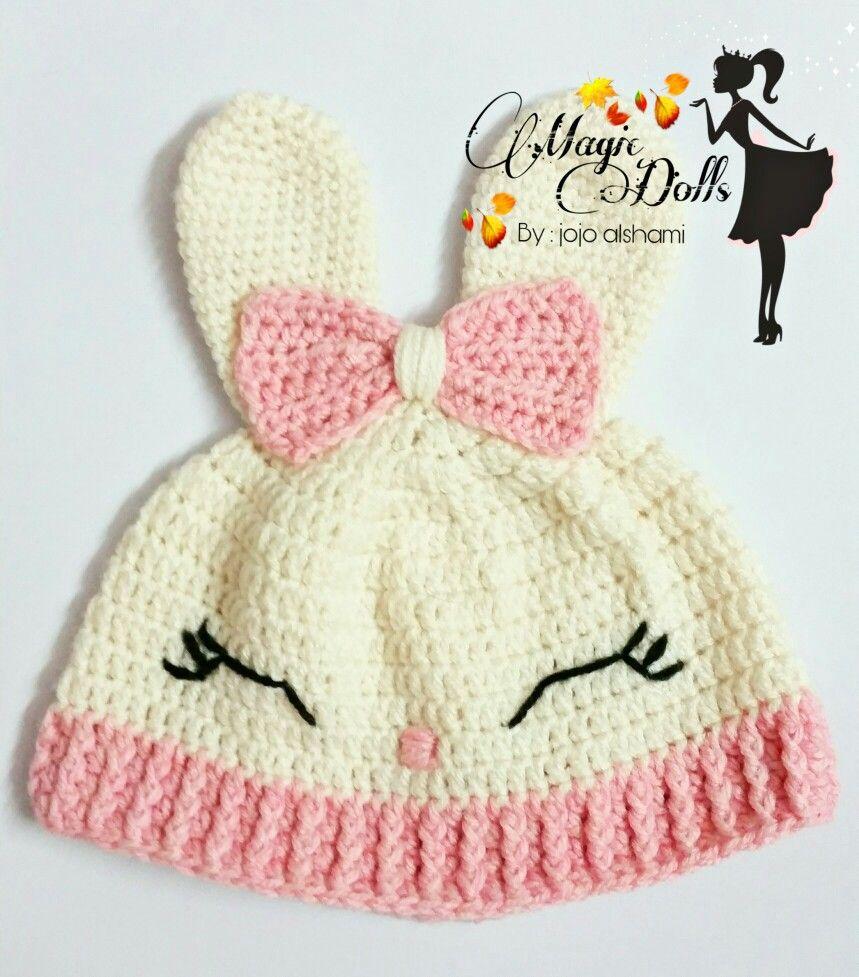 Pin By 0magic Dolls0 On قبعات اطفال كروشية Crochet Hats Crochet Dolls