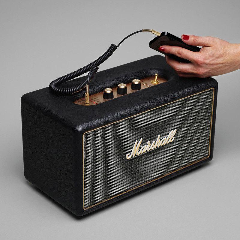 Marshall Acton Bluetooth Compact Speaker System | Black