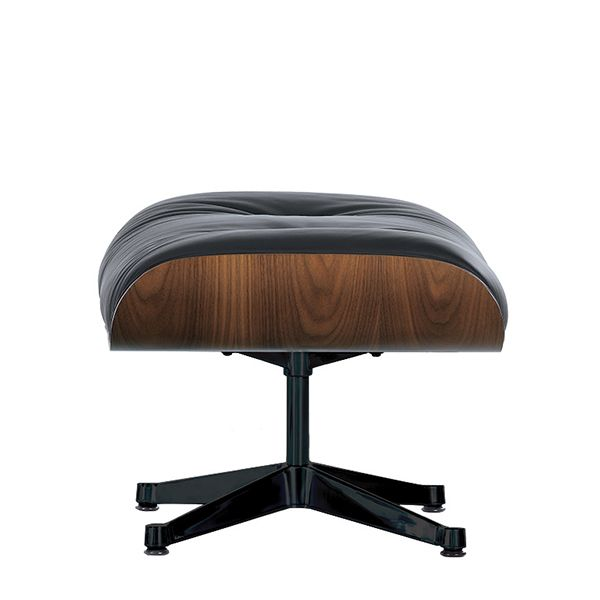 Vitra's Eames Lounge Ottoman, designed by Charles and Ray