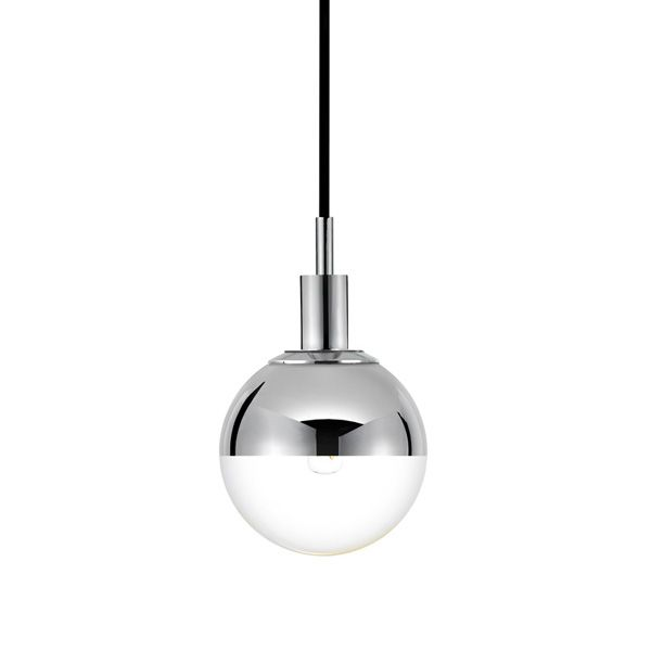 The bubble half mercury glass pendantpolished chrome shown with ceiling light fixtures ceiling pendants decorative shades aloadofball Images