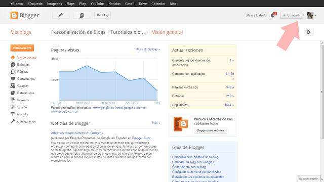 Cómo dejar de ser una no-reply blogger si usáis Google+ - Personalización de Blogs | Tutoriales blogger, trucos blog...