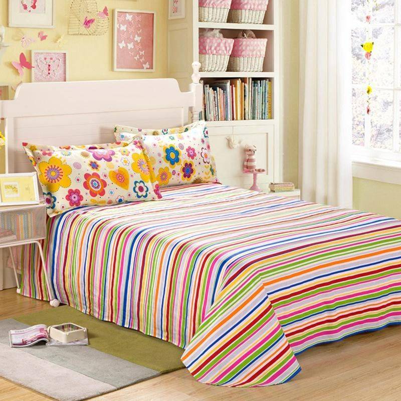 cotton fitted sheet double