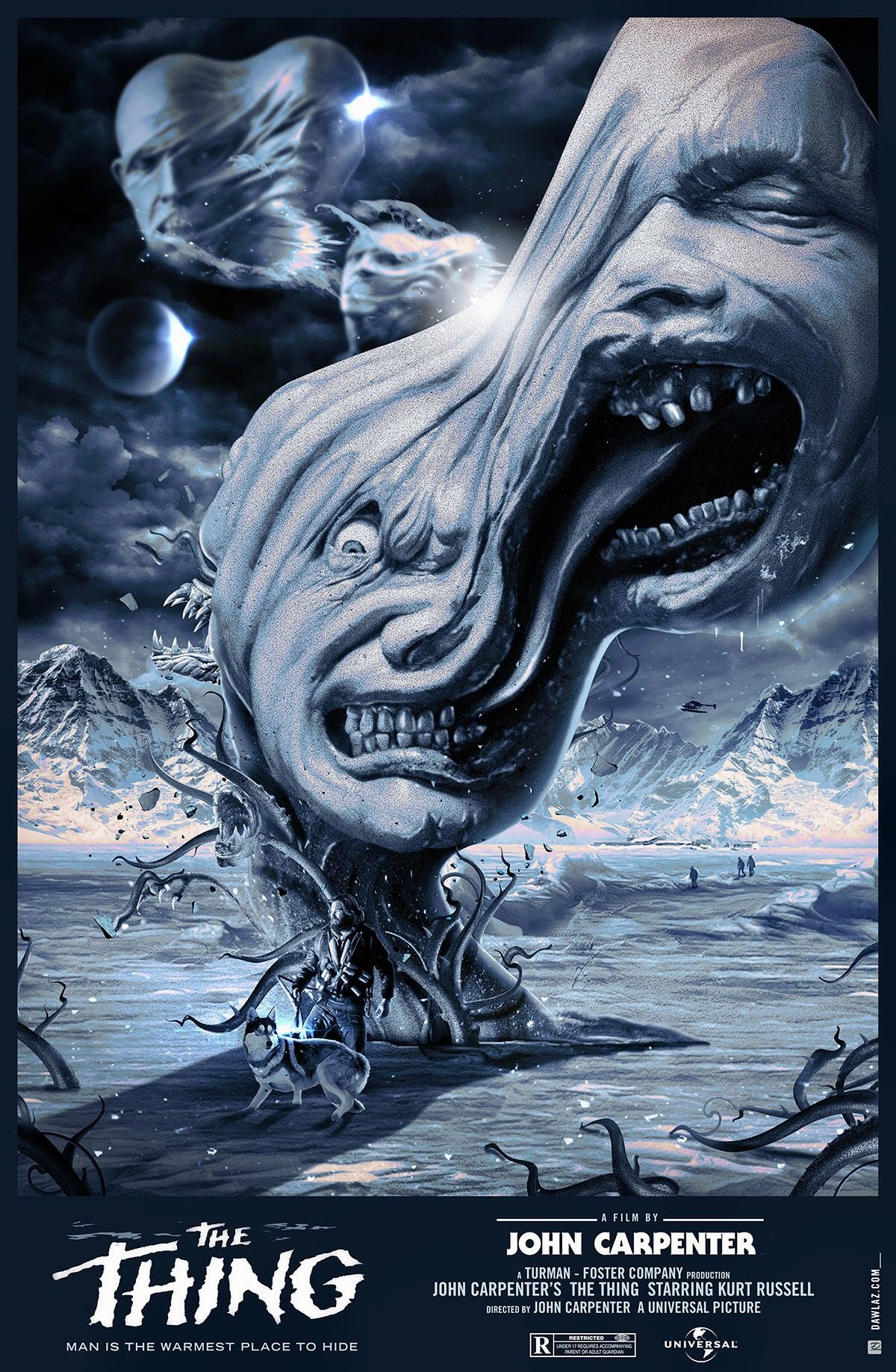 THE THING   Horror movie art, Horror movie icons, Horror posters