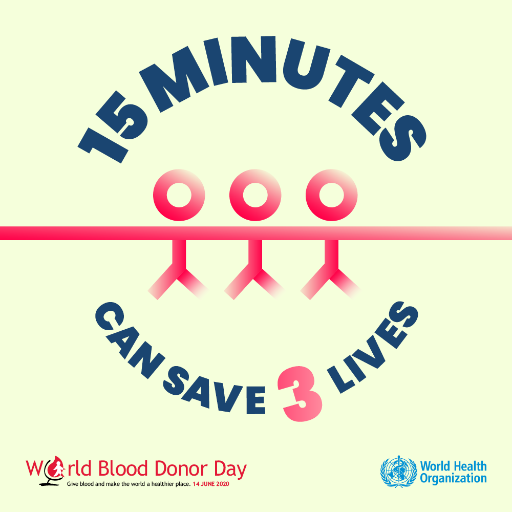 Donating Blood Only Takes 15 Minutes And Can Save Many Lives You Can Usually Giveblood If