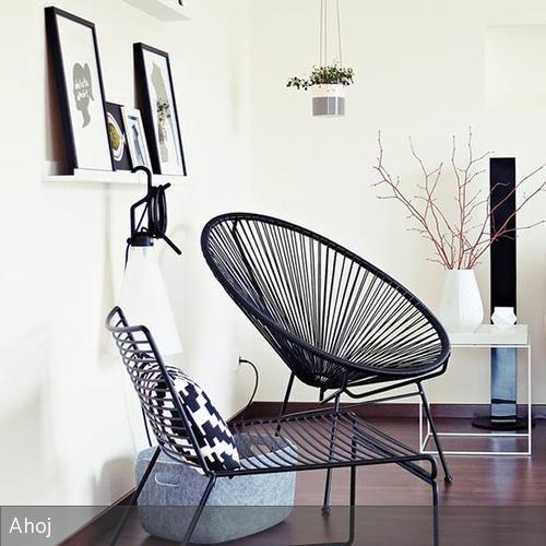 Ahojs Wohnzimmer schwarze Wohnzimmer, nordisches Design und - wohnzimmer modern hell