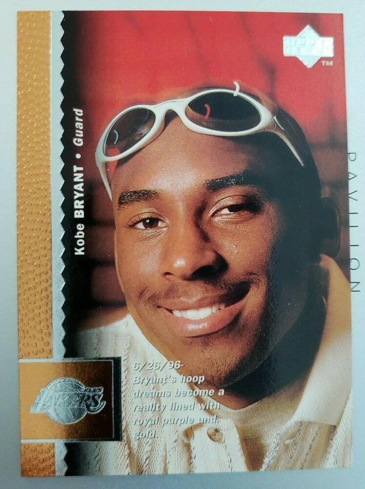 199697 upper deck 58 kobe bryant rc rookie card