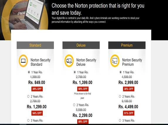 Save Up to 55% Off on Security Suite Products Norton Promo