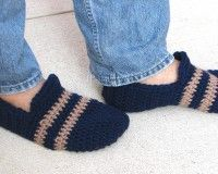 Easy Mens Crochet Slipper Pattern Crochet Pattern Mens Slippers